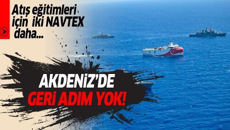 Son dakika: Türkiye'den Doğu Akdeniz'de 2 yeni NAVTEX daha!