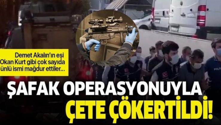"""Çok sayıda ünlü ismi mağdur eden """"Yeni Sülün Osman"""" çetesi şafak operasyonuyla çökertildi!"""