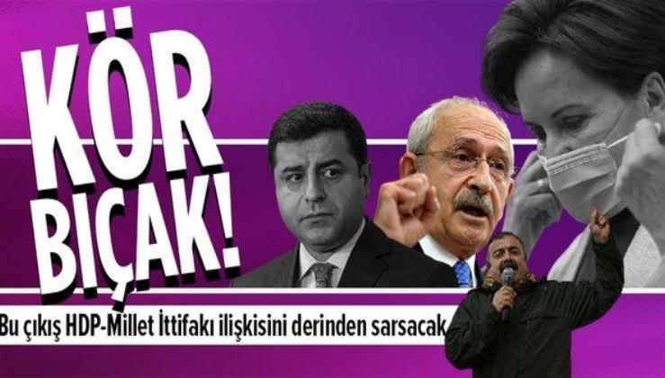 Sırrı Süreyya Önder'in çıkışı HDP-Millet İttifakı ilişkisini derinden sarsacak görünüyor