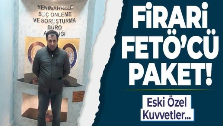 Firari FETÖ'cü eski binbaşı Ankara'da yakalandı!