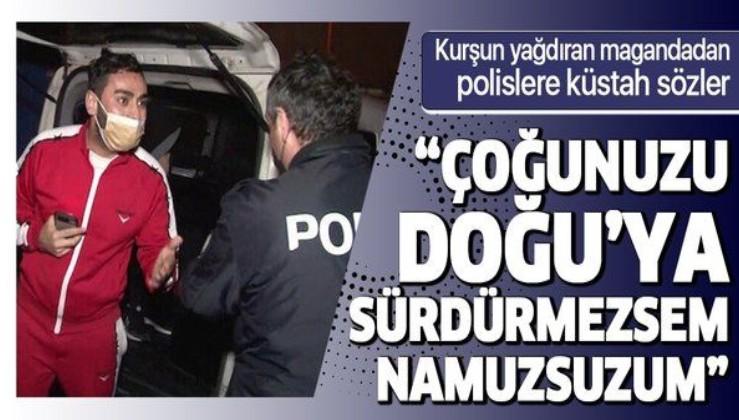 İstanbul Sultanbeyli'de akılalmaz olay! Önce kurşun yağdırdı sonra polisleri tehdit etti: Çoğunuzu Doğu'ya sürdüreceğim