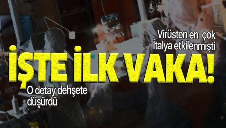 İtalya'da corona virüsünden ölen ilk hasta hakkında şoke eden detay!.