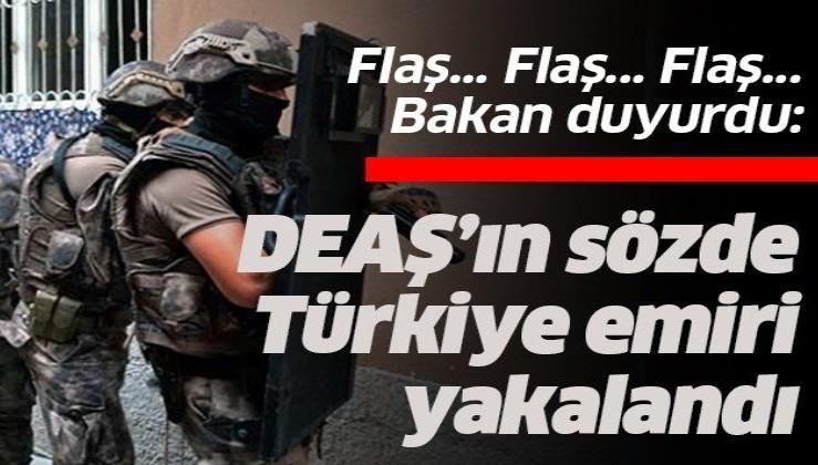 Son dakika: DEAŞ'ın sözde Türkiye emiri yakalandı ve tutuklandı