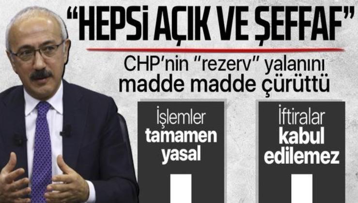 """Son dakika: Hazine ve Maliye Bakanı Lütfi Elvan'dan """"128 milyar dolar"""" açıklaması"""