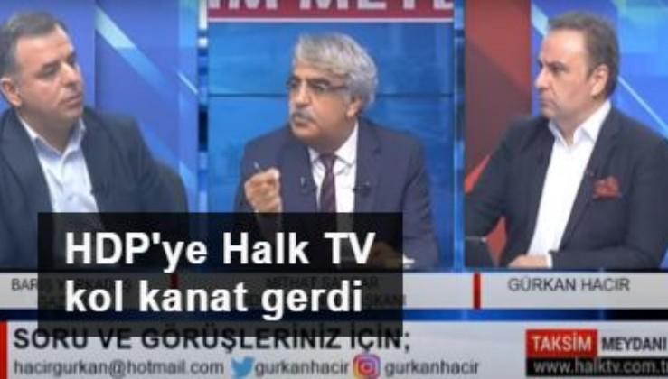 HDP'ye Halk TV kol kanat gerdi