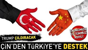 Son dakika... Çin'den Türkiye'ye destek!.