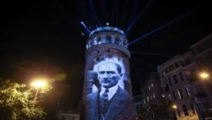 672 yıllık tarihi Galata Kulesi yenilendi, Atatürk'le açıldı