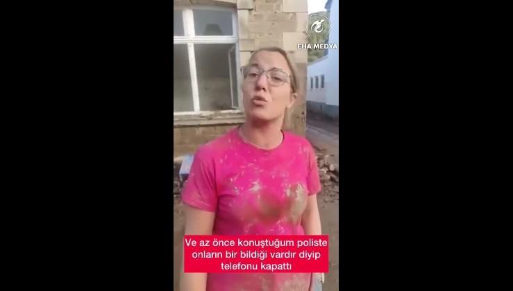 Almanya'da sel felaketinde maddi zarara uğrayan halk öfke içinde.