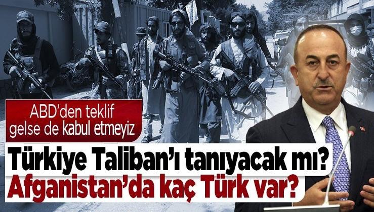 Dışişleri Bakanı Mevlüt Çavuşoğlu: ''Taliban ile değişik kanallardan iletişimimiz var''
