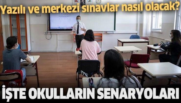 SON DAKİKA: Yazılı ve merkezi sınavlar nasıl olacak? İşte okulların yeni sınav planı