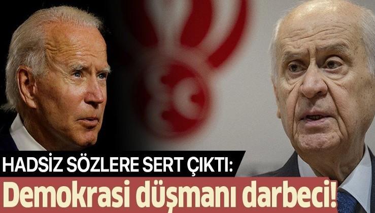 Bahçeli: CHP artık Atatürk'ün partisi değil. Joe Biden CHP'nin üst aklıdır.Türk düşmanlığının şifresi kırıldı