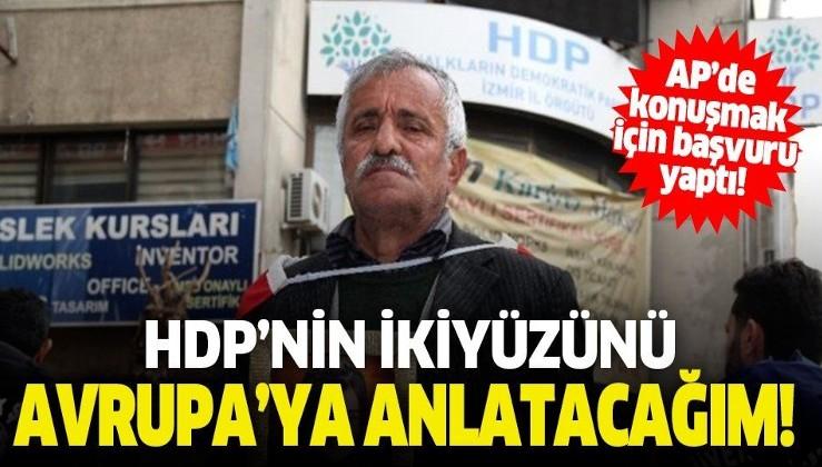 Evlat nöbeti tutan baba AP'de konuşmak için başvuru yaptı: HDP'nin ikiyüzünü Avrupa'ya anlatacağım