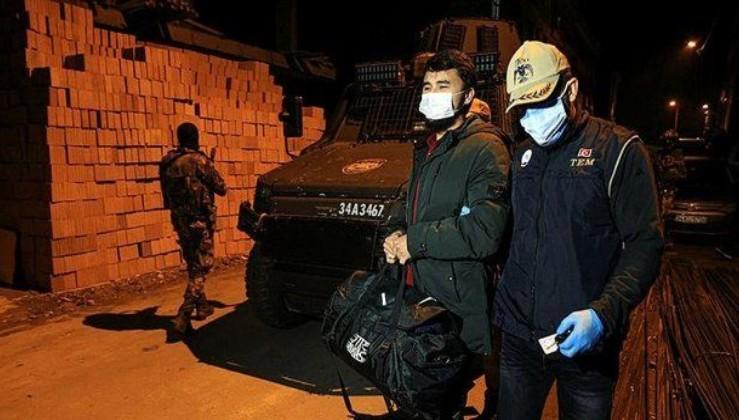 SON DAKİKA: İstanbul'da gece yarısı terör örgütü DEAŞ'a operasyon: Çok sayıda şüpheli gözaltına alındı