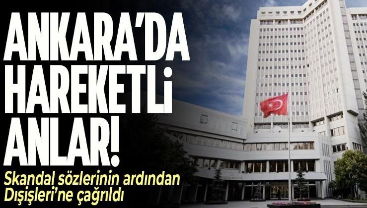 SON DAKİKA! Ankara'da hareketli anlar! İran Büyükelçisi Dışişleri Bakanlığı'na çağrıldı