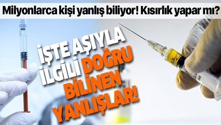 SON DAKİKA: Aşılar kısırlık yapar mı? Bakanlık açıkladı: İşte doğru bilinen yanlışlar!