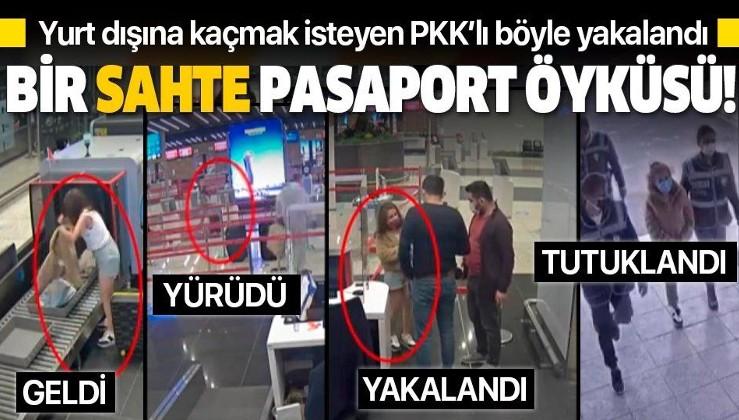 SON DAKİKA: Sahte pasaportla yurt dışına kaçmaya çalışan PKK'lı kadın terörist Helin D. tutuklandı