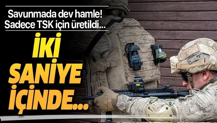 Türkiye'den savunmada dev hamle! TSK'ya özel üretildi...