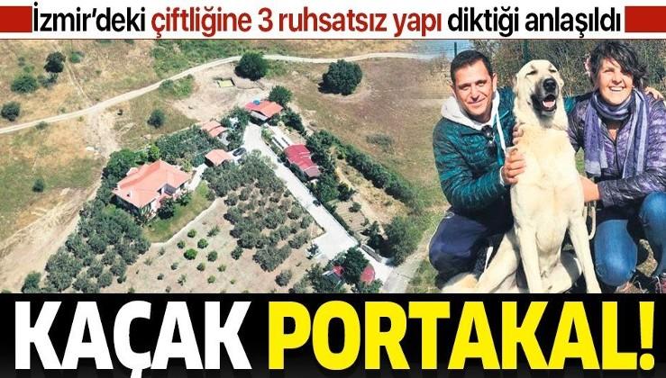 """FOX TV sunucusu Fatih Portakal da """"kaçak""""çı çıktı! İzmir'deki çiftliğine 3 ruhsatsız yapı diktiği anlaşıldı"""