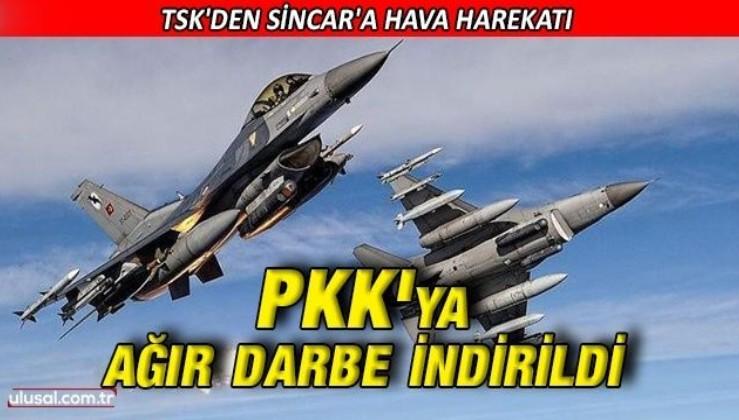 PKK'ya hava harekatıyla ağır darbe: 10 terörist etkisiz hale getirildi