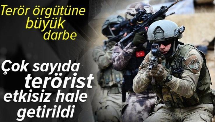 Son dakika: Saldırı girişiminde bulunan PKK/YPG'li 11 terörist etkisiz hale getirildi