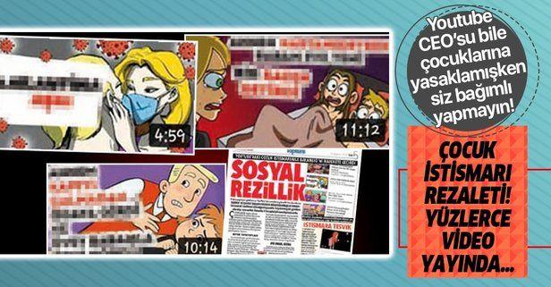 YouTube'da çocuk istismarı rezaleti! Yüzlerce video hala erişime açık