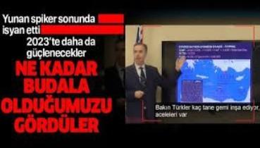 Yunan spiker hükümete isyan etti: Budala olduğumuzu anladılar!