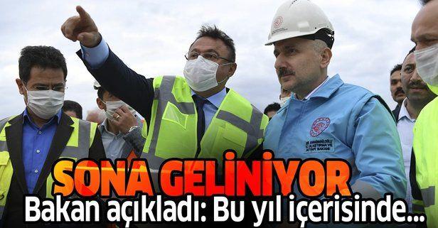 Ankara-Sivas YHT projesinin bu yıl hizmete alınması için çalışmalar sürüyor