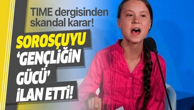 Emperyalistlerin zamanı: Greta Thunberg'ı yılın kişisi seçti!.