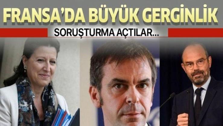 Fransa'da eski Başbakan Edouard Philippe ve Sağlık Bakanları Olivier Veran ve Agnes Buzyn hakkında soruşturma açıldı