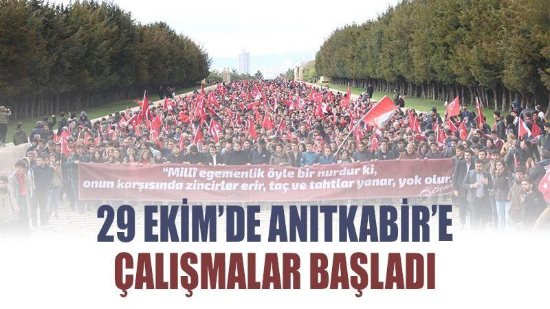29 Ekim'de Anıtkabir'e çalışmalar başladı