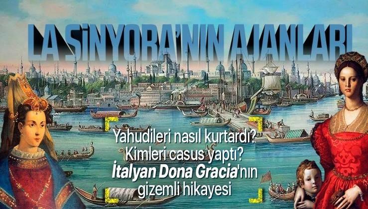 Özgürlüğünü Kanuni Sultan Süleyman sağladı: O da ajanları ile kendi halkının... | Dona Gracia Mendes'in gizemli hikayesi