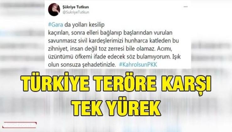 Türkiye teröre karşı tek yürek