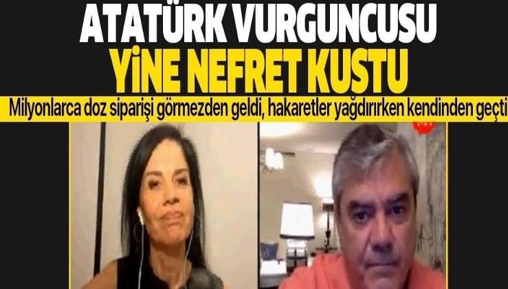 Atatürk vurguncusu Sözcü yazarı Yılmaz Özdil yine hakaretler yağdırdı! Koronavirüs aşısı üzerinden nefret kustu