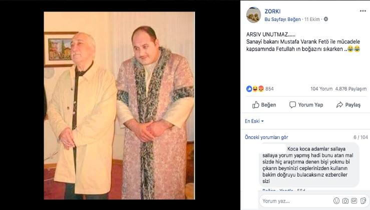 Fotoğrafta Fethullah Gülen'in yanındaki kişi Sanayi ve Teknoloji Bakanı Mustafa Varank mı?