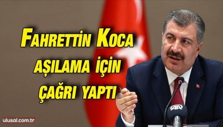 Sağlık Bakanı Fahrettin Koca: ''450 bin kişinin önemli bir randevusu var''