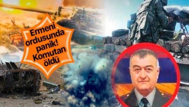 Azerbaycan'dan 'Dehşet' vuruş: Ermeni ordusunun kritik komutanı Albay Artur Galstyan öldürüldü!