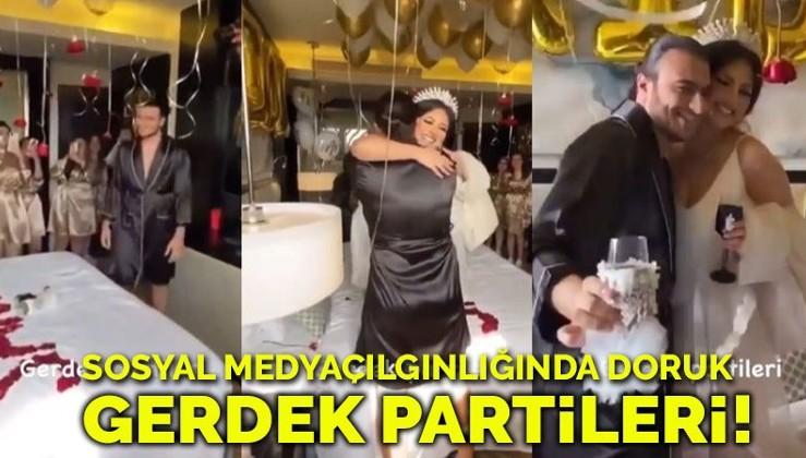Batı'nın ahlaksızlığını almaya devam: Sosyal medya çılgınlığında doruk: Gerdek partisi