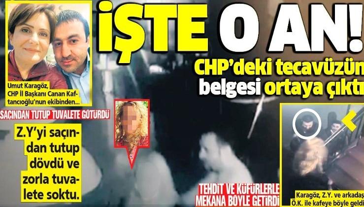 CHP'deki tecavüzün belgesi ortaya çıktı: CHP'li Umut Karagöz genç kadını zorla alıkoyarak taciz etti