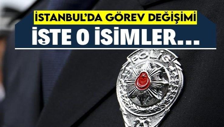 Son dakika: İstanbul Emniyet Müdürlüğü'nde görev değişimi: 11 müdür ve emniyet amiri İstanbul'a atandı