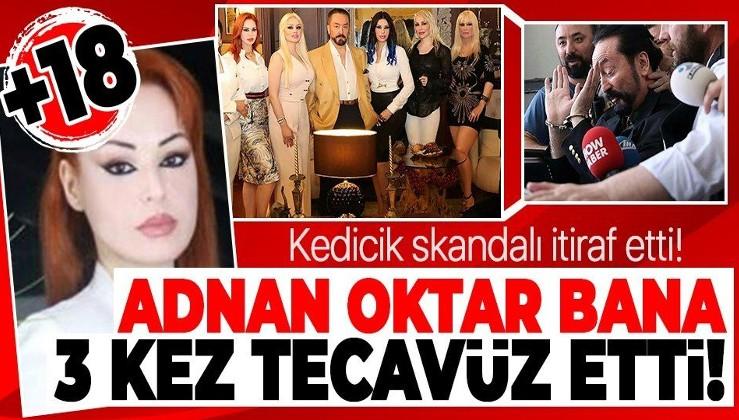 Adnan Oktar'ın kediciği Müge Öğütçü skandalı itiraf etti: Bana 3 kez tecavüz etti!