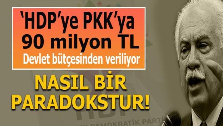 """""""Devlet, HDP'ye, PKK'ya her yıl 90 milyon TL veriyor, bu ne büyük paradokstur!"""""""