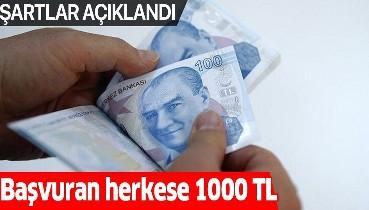 e-Devlet üzerinden başvuru ile 1000 lira ödeme alınabilecek! Sosyal yardım şartları açıklandı
