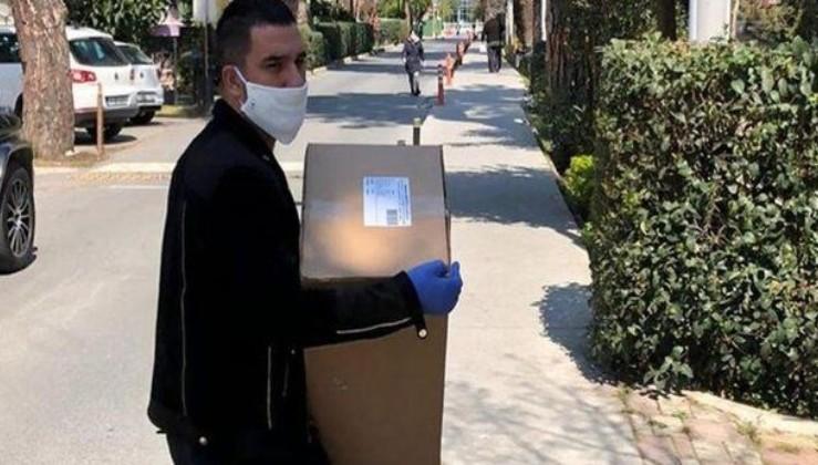 Arda Turan'dan örnek hareket! 100 bin maske yardım dağıtımına başladı