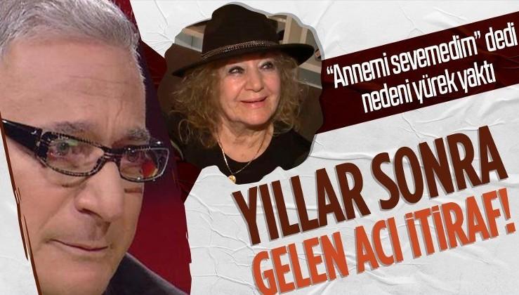 """Mehmet Ali Erbil'den yıllar sonra gelen acı itiraf! Gözyaşları içinde """"Annemi sevemedim"""" dedi nedeni yürek yaktı"""
