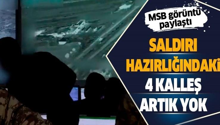 Son dakika: Milli Savunma Bakanlığı duyurdu: Barış Pınarı bölgesinde saldırı girişiminde bulunan 4 PKK'lı terörist öldürüldü