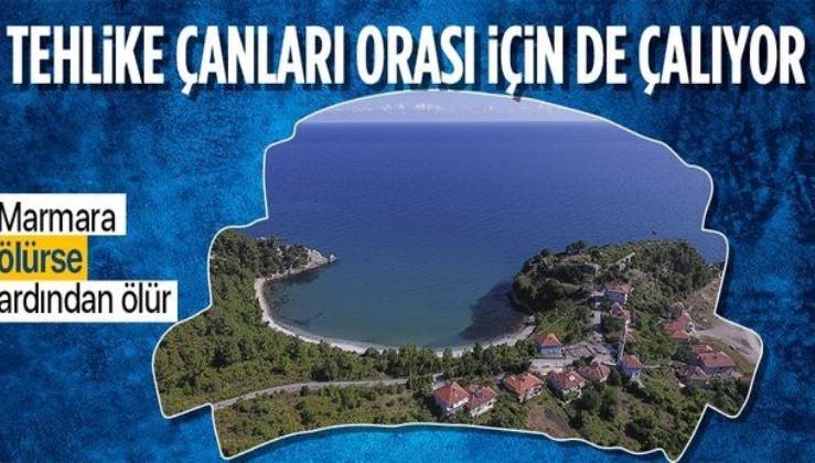 Meclis'te çarpıcı değerlendirme: Marmara Denizi'ndeki deniz salyası (müsilaj) Karadeniz'i de yok eder