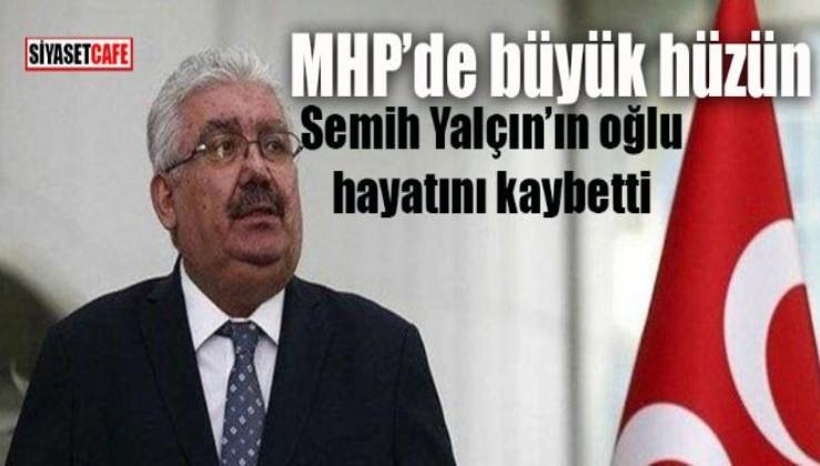 MHP'li Semih Yalçın'ın acı günü, evladı Ankara Kalesi'nden düşerek vefat etti!!