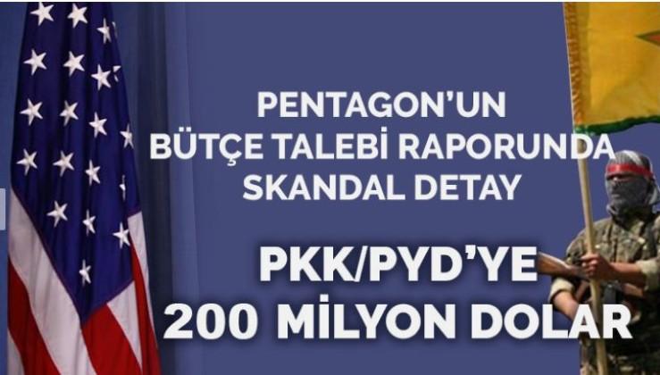 Pentagon'dan PKK/PYD'ye 200 milyon dolar bütçe