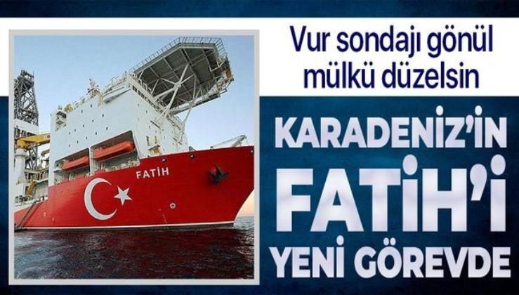 """Son dakika! """"Karadeniz'in Fatih'i"""" yeni görevde! Amasra-1 kuyusunda sondaj başladı"""
