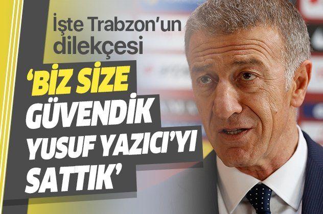Trabzonspor'un Tahkim'e yaptığı itirazın dilekçesi ortaya çıktı